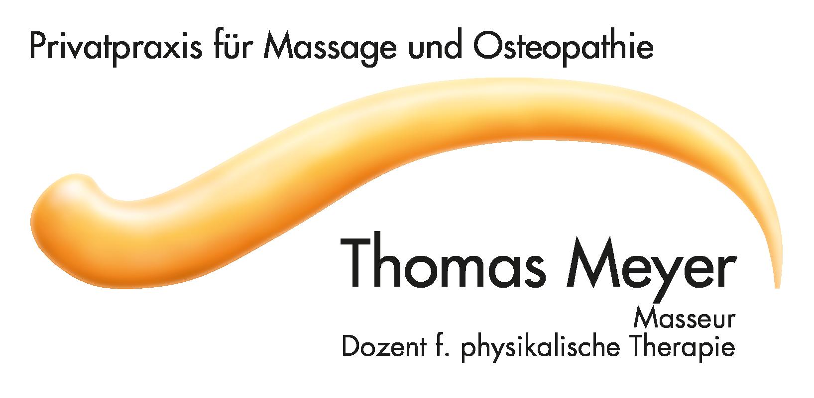 Logo von Thomas Meyer - Privatpraxis für Massage und Osteopathie